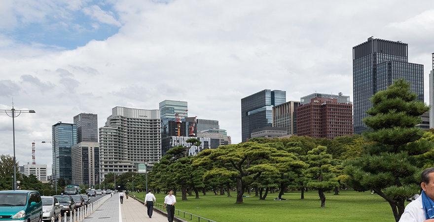 Tokyo le paradis des piétons